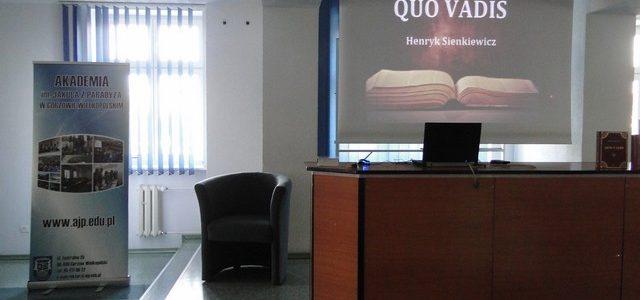 Narodowe Czytanie  w Akademickim Gimnazjum Mistrzostwa Sportowego w Gorzowie Wielkopolskim