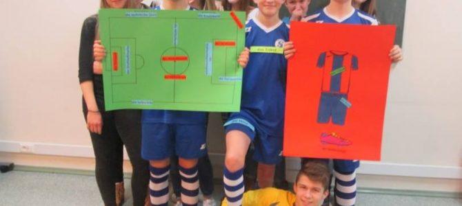 """Konkurs """"Fußball + Deutschunterricht = Spaß!"""""""