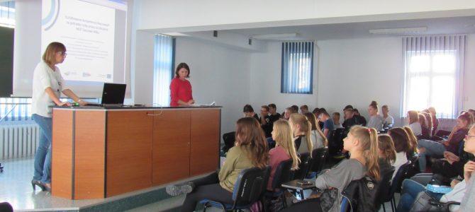 """Zajęcia wyjazdowe z języka angielskiego organizowane w ramach projektu unijnego """"Kształtowanie kompetencji kluczowych na potrzeby rynku pracy na obszarze MOF Gorzowa Wielkopolskiego"""""""