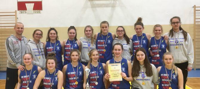 Zwycięstwo gimnazjalistek w Gorzowskiej Spartakiadzie Młodzieży w koszykówce